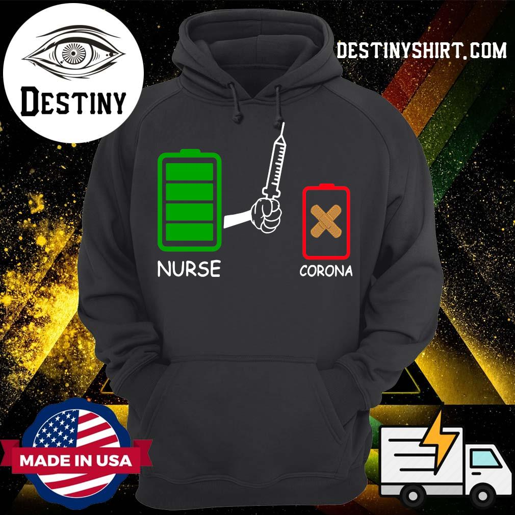 Battery source Nurse and Coronavirus s Hoodie